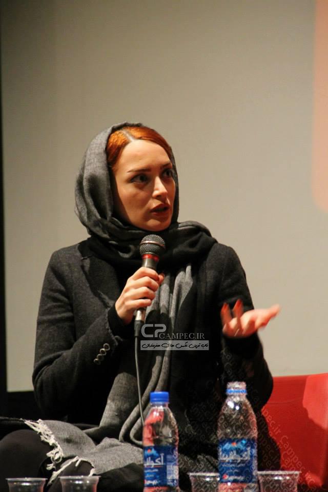 عکسهای جدید بهنوش طباطبایی در نشست خبری فیلم آزاد راه