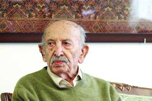 راز شادابی مرتضی احمدی در سن ۹۰ سالگی + عکس