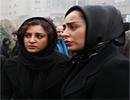 سمانه پاکدل،حدیثه تهرانی،مریم کاویانی و بهنوش بختیاری در مراسم ترحیم حادثه معراجی ها+تصاویر