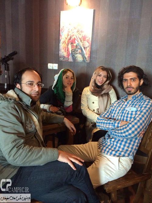 عکس های جدید شیما محمدی و تیما پور رحمانی بازیگران جوان تلویزیون + بیوگرافی