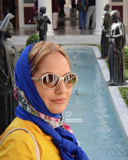 عکسهای جدید و جذاب مهناز افشار در خارج از کشور