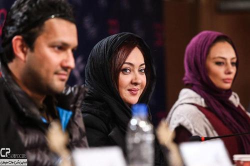 """نشست فیلم""""زندگی جای دیگری است""""با حضور نیکی کریمی،حامد بهداد, یکتا ناصر و همسرش+تصاویر"""