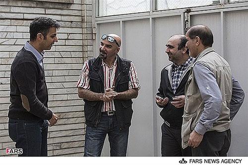 دلجویی حضوری «فردوسیپور» از عوامل سریال نوروزی شبکه ۳+تصاویر