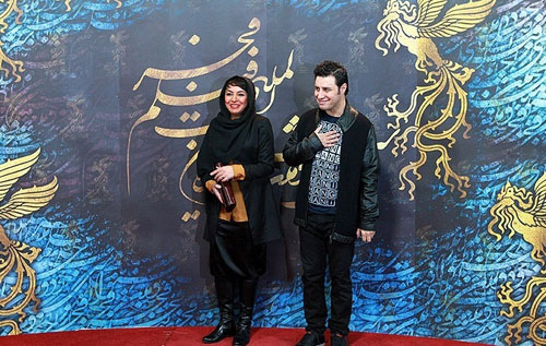 جدیدترین عکس های جواد عزتی و همسرش مه لقا باقری