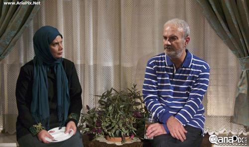 عکسهای سریال سال های ابری با بازی فرزاد حسنی و لیندا کیانی