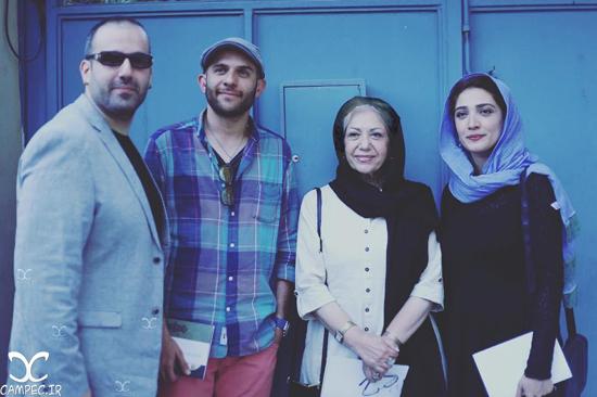 بازیگران مشهور در افتتاحیه نمایشگاه عکس ایستاده در غبار + تصاویر