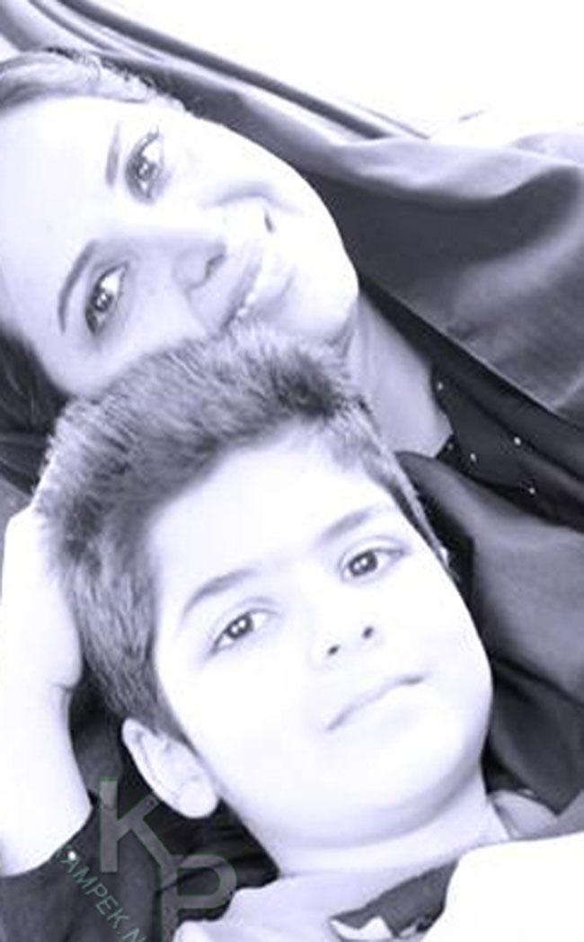 عکس : پریوش نظریه و دخترش و کمند امیرسلیمانی و پسرش