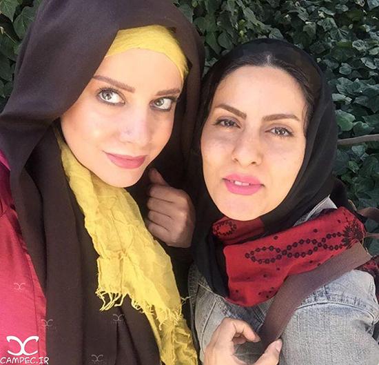 عکس های جدید شراره رخام و ماجرای تزریق ژل لب اش + بیوگرافی و طلاق