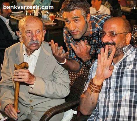 کریخوانی هنرمندان سرخابی در حضور زندهیاد احمدی+عکس