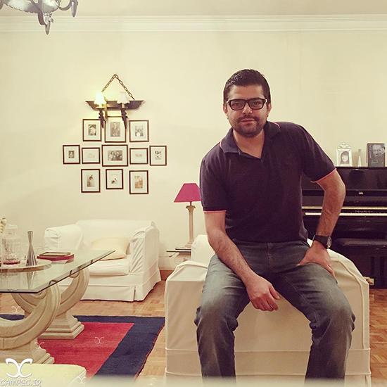 عکس های جدید شاهد احمدلو بازیگر سریال گشت ویژه با همسرش + بیوگرافی