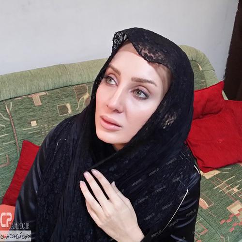"""عکس های جدید و متفاوت سولماز حصاری بازیگر """"سریال برابر با اصل"""""""