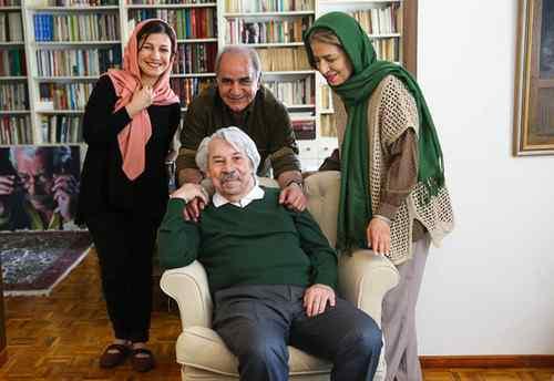 عکس تاسف برانگیز از وضعیت مزار زنده یاد داود رشیدی و واکنش همسرش + تصاویر