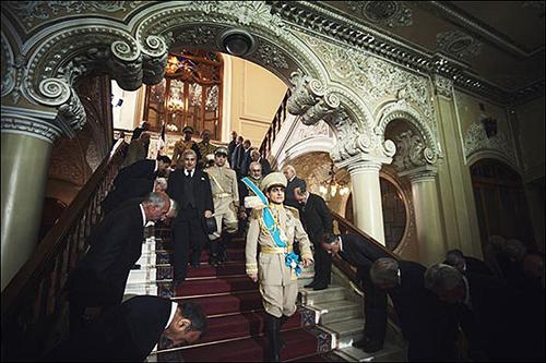 «معمای شاه» به کاخ سفید میرود + تصاویر