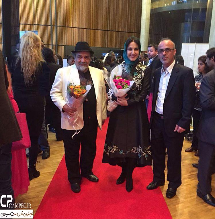 عکس های جدید فاطمه گودرزی در جشنواره فیلم نروژ