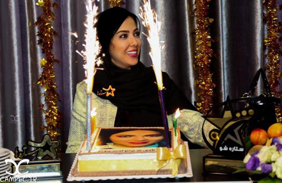 عکس های جدید و زیبای لیلا اوتادی در روز تولدش