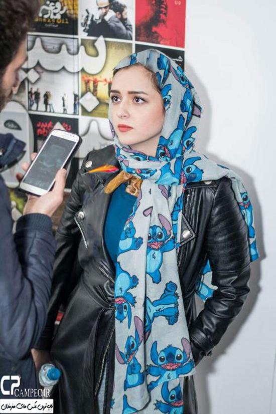 ترانه علیدوستی و همسرش در اکران خصوصی فیلم بهمن + تصاویر