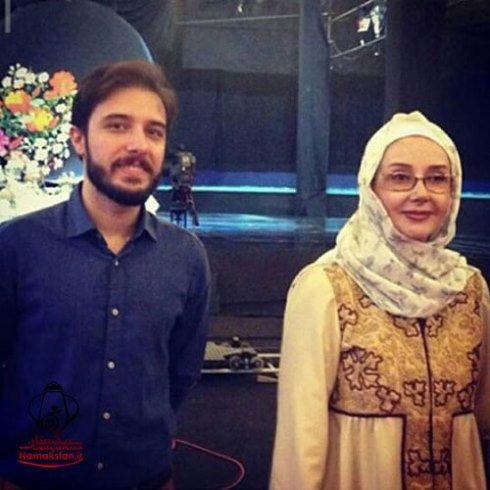 کتایون ریاحی و پسرش در برنامه ماه عسل + تصاویر