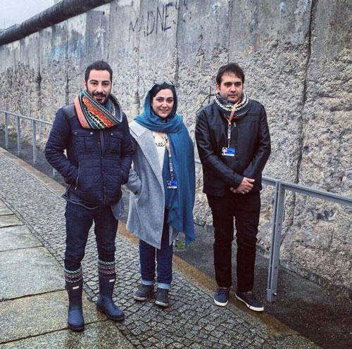 تیپ جدید نوید محمدزاده در آلمان+عکس
