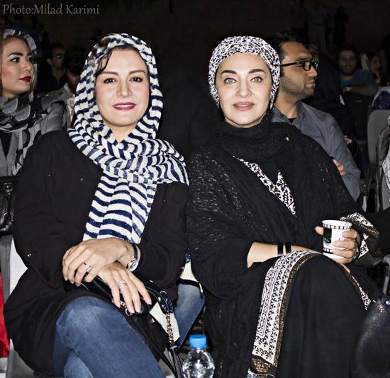 حضور بازیگران مشهور در دومین جشن عکاسان سینما / از لیلا حاتمی و همسرش تا بهرام رادان و باران کوثری + تصاویر