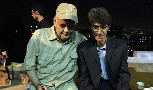 وقتی اکبر عبدی به دکتر روحانی گیر می دهد! + تصاویر