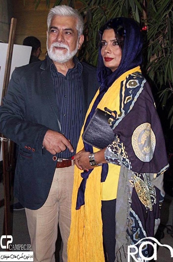عکس های عاطفه رضوی و همسرش حسین پاکدل در اکران فیلم ۳۶۰ درجه