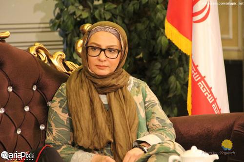نسرین مقانلو و لاله صبوری در برنامه صبح خلیج فارس + تصاویر