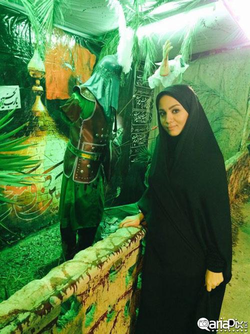 عکس های متفاوتی از مبینا نصیری مجری برنامه اینجا ایران است + بیوگرافی