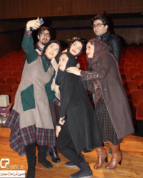 جشن تولد لیلا بلوکات با حضور فرزاد حسنی + تصاویر