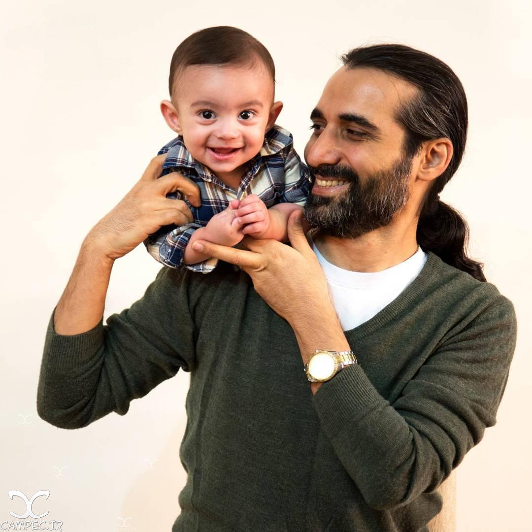 عکس های جدید و دیدنی ماه چهره خلیلی با همسر و پسرش