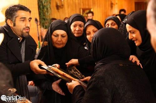 گریم متفاوت پژمان جمشیدی در فیلم تازه اش همراه با هم بازیگرانش+تصاویر