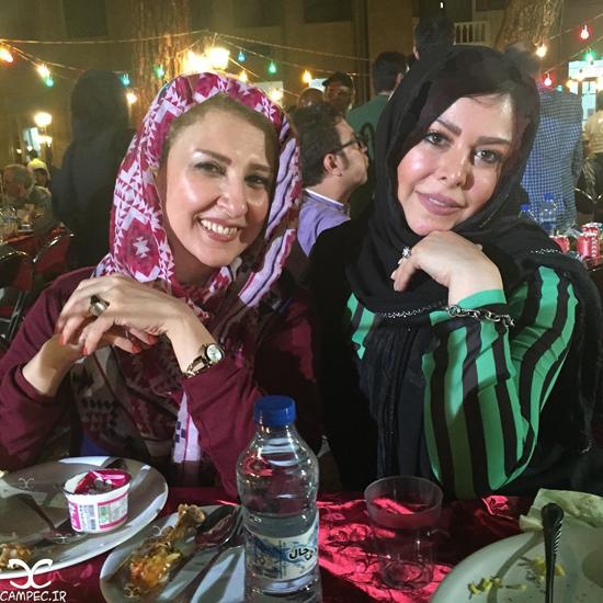 حضور بازیگران مشهور در مراسم افطاری سیمای مهر + تصاویر