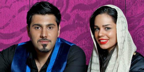 عکس های متفاوتی از احسان خواجه امیری و همسرش
