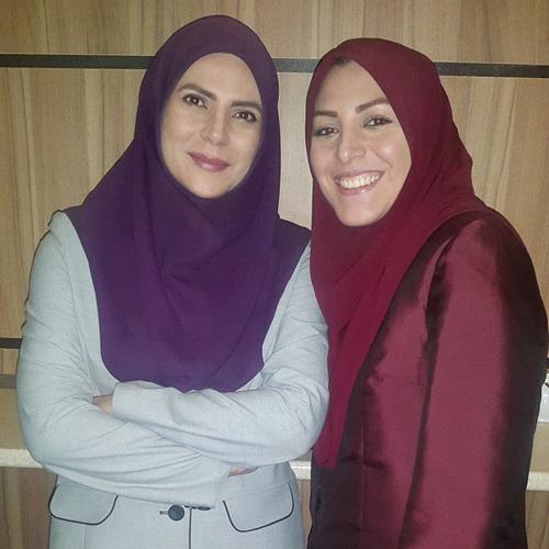 عکس های متفاوت خانوادگی از همسر و فرزندان المیرا شریفی مقدم گوینده شبکه خبر