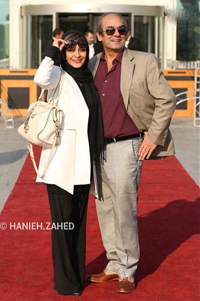 ساره بیات در کنار پدرش+عکس