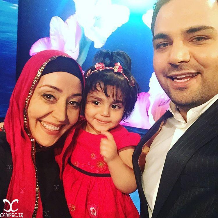 داستان واقعی زندگی آرزو افشار بازیگر سریال آوای باران و دخترش در برنامه ماه عسل + تصاویر