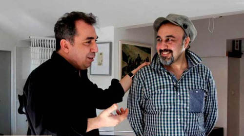رضا عطاران با همدستی سیامک انصاری نویسنده مهران مدیری را غُر زدند؟! + عکس