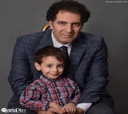 بهنام تشکر و پسرش+عکس
