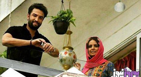 مهاجرت بنیامین بهادری و همسرش شایلی از ایران + تصاویر