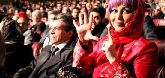 عکس های بازیگران زن مشهور شرکت کننده در جشن ۵۰ سالگی پرسپولیس