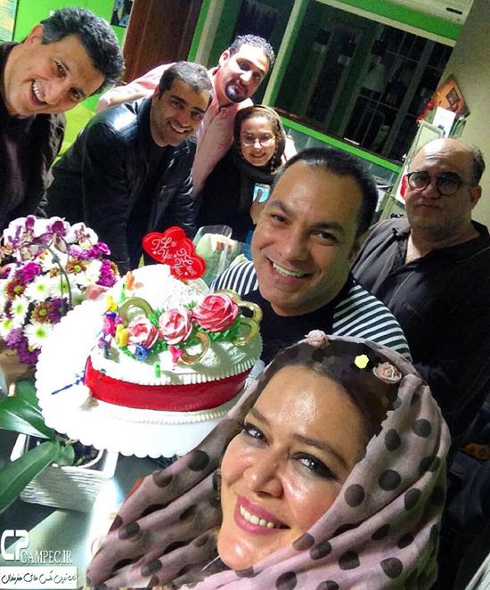 عکس های جشن تولد ۴۲ سالگی بهاره رهنما با حضور بازیگران