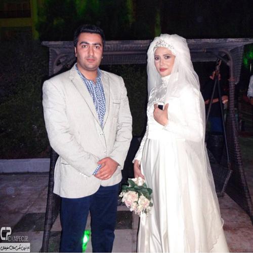 عکس های جدید پریناز ایزدیار در لباس عروس