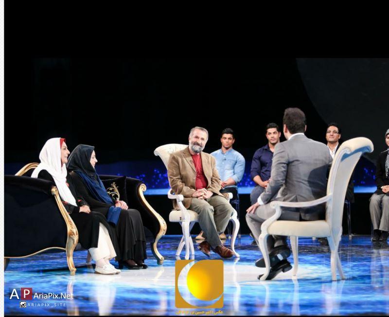 عکس های جالب برنامه ماه عسل ۹۴ با اجرای احسان علیخانی + تصاویر مهمانان