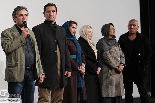 حضور متفاوت نیوشا ضیغمی در اکران فیلم «دریا و ماهی پرنده» در کاخ جشنواره فجر + تصاویر