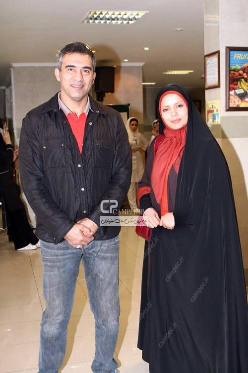 احمد رضا عابدزاده به پشت صحنه سریال «آوای باران» رفت + تصاویر