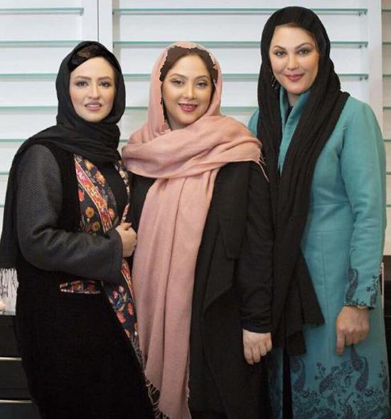 بازیگران زن سینما در سالن زیبایی مریم سلطانی + تصاویر