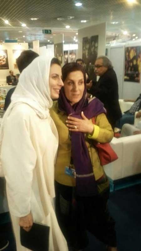 لیلا حاتمی و فاطمه معتمد آریا در بازار جشنواره کن + عکس