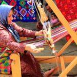 چادر شب بافی هنر زنان و دختران مازندرانی و گیلانی!+عکس