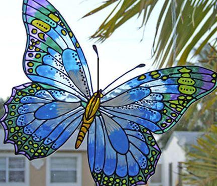 نقاشی پشت شیشه از رشته های منسوخ شده نقاشی!
