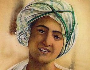 رسول خدا (ص) و حقیقت تصویری که از نوجوانی وی منتشر شده است!+عکس