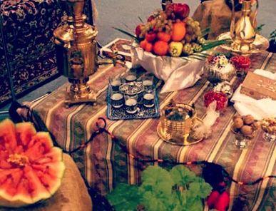 استان کرمانشاه و آداب و رسوم مردم این منطقه در شب چله نشینی و یلدا